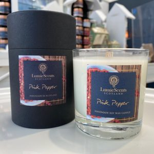 Pink Pepper Scented Candle